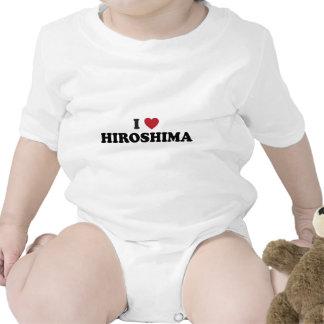 I Heart Hiroshima Japan Baby Creeper