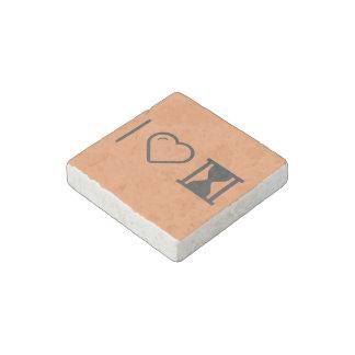 I Heart Historys Stone Magnet