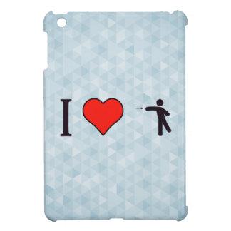 I Heart Hitting Bulls Eye Cover For The iPad Mini