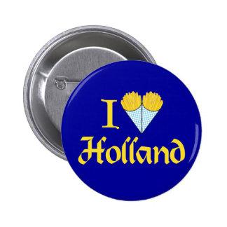 I Heart Holland Pinback Button