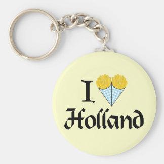 I Heart Holland Keychain