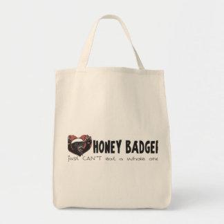 I Heart Honey Badger Canvas Bags