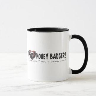 I Heart Honey Badger Mug