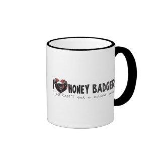 I Heart Honey Badger Mugs