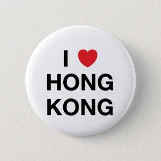 I HEART HONG KONG Badge Pin