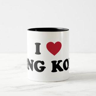 I Heart Hong Kong China Two-Tone Coffee Mug