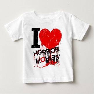 I HEART HORROR MOVIES BABY T-Shirt