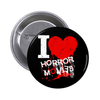 I HEART HORROR MOVIES BUTTON