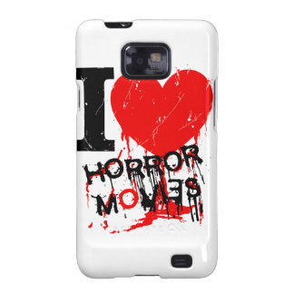 I HEART HORROR MOVIES GALAXY S2 CASE