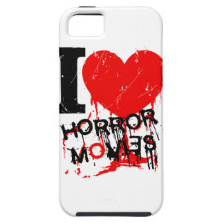 I HEART HORROR MOVIES iPhone 5 CASES