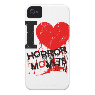 I HEART HORROR MOVIES Case-Mate iPhone 4 CASE