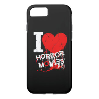 I HEART HORROR MOVIES iPhone 8/7 CASE