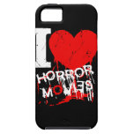 I HEART HORROR MOVIES iPhone SE/5/5s CASE
