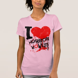 I Heart Horror Movies T-Shirt