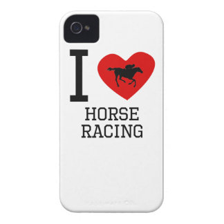 I Heart Horse Racing iPhone 4 Cover