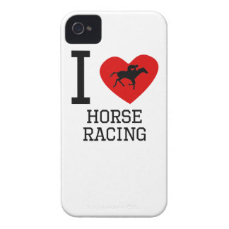 I Heart Horse Racing iPhone 4 Cases