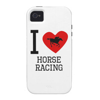 I Heart Horse Racing Vibe iPhone 4 Cases