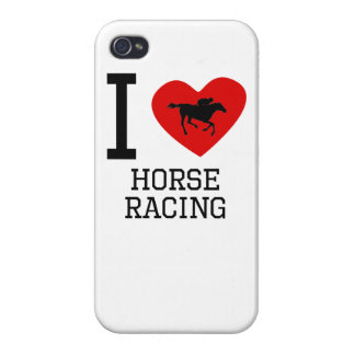 I Heart Horse Racing Covers For iPhone 4