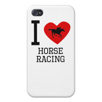 I Heart Horse Racing iPhone 4/4S Cover