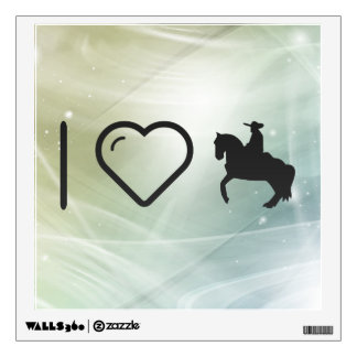 I Heart Horse Ridings Wall Graphic