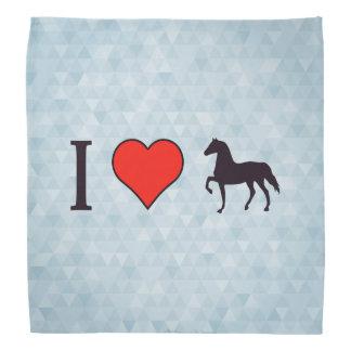 I Heart Horses Bandana
