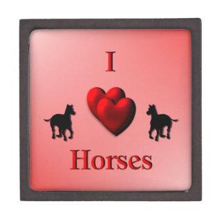 I Heart Horses Gift Box