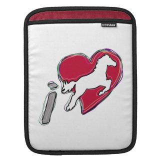 i HEART HORSES iPad Sleeves