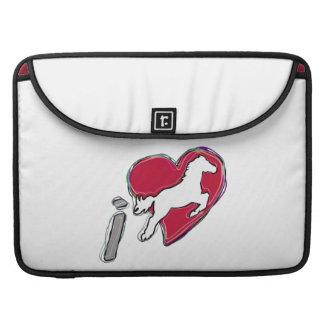 i HEART HORSES MacBook Pro Sleeve