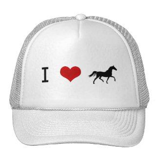 I heart Horses Trucker Hat
