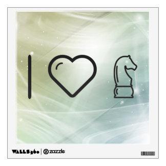 I Heart Horses Room Graphic