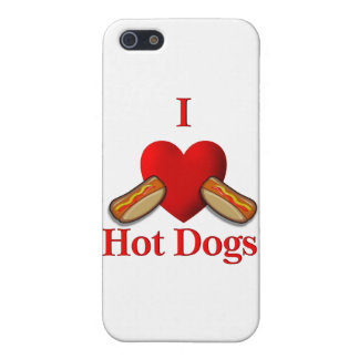 I Heart Hot Dogs Case For iPhone SE/5/5s