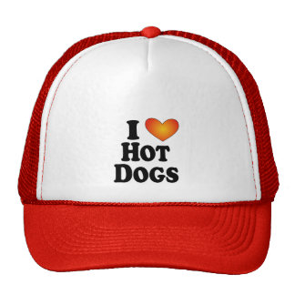I (heart) Hot Dogs - Lite Multi-Product T-Shirts Trucker Hat
