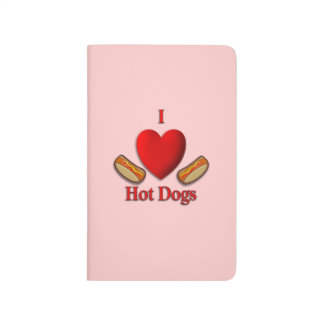 I Heart Hot Dogs Personal Journal