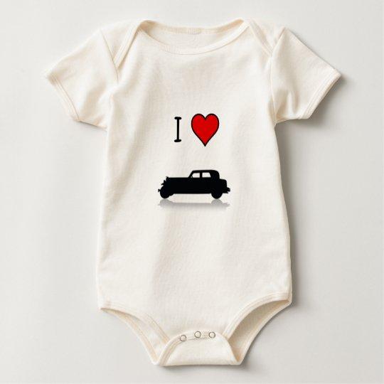 I Heart Hotrods Infant Baby Bodysuit