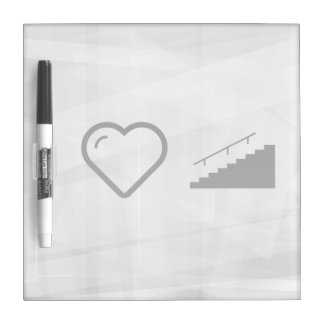 I Heart Houses Dry Erase Boards
