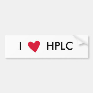 I heart HPLC Sticker