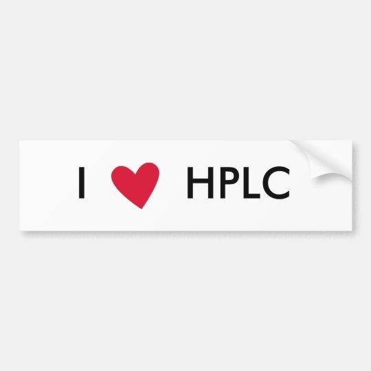 I heart HPLC Sticker