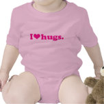 I heart hugs shirts