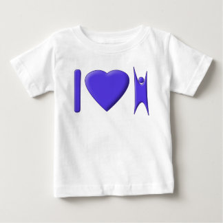 I Heart Humanism Baby T-Shirt