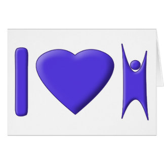 I Heart Humanism Card