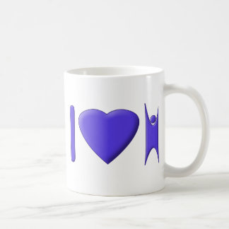 I Heart Humanism Classic White Coffee Mug