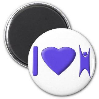 I Heart Humanism Magnet