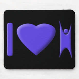 I Heart Humanism Mouse Pad