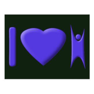 I Heart Humanism Postcard