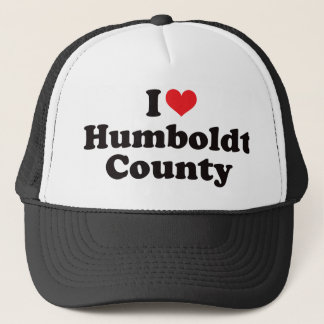 I Heart Humboldt County Trucker Hat