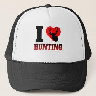 I Heart Hunting Trucker Hat