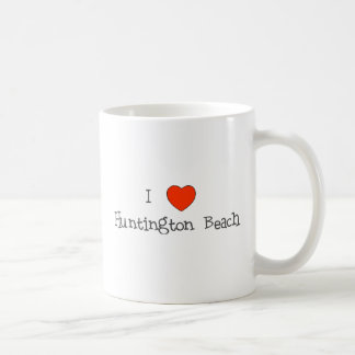 I Heart Huntington Beach Coffee Mugs