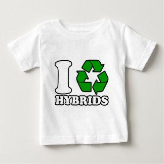 I Heart Hybrids Baby T-Shirt