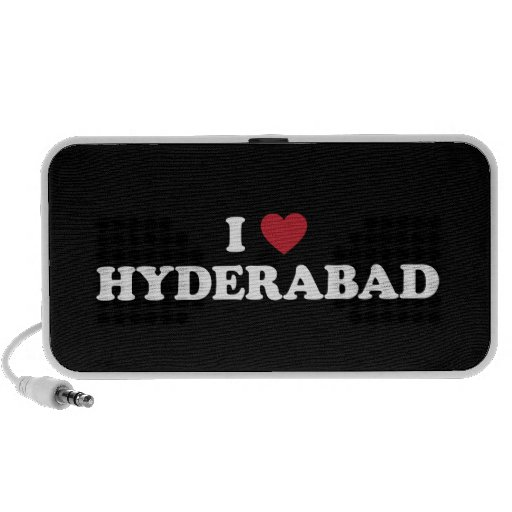 I Heart Hyderabad Laptop Speakers