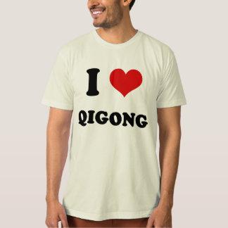 I Heart I Love Qigong Tee Shirt